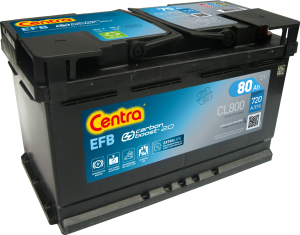 Akumulator  80Ah CENTRA CL800 START|STOP