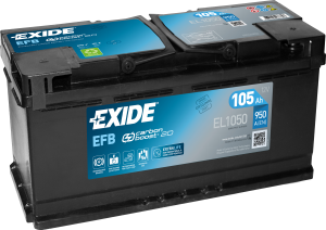 Akumulator  105Ah EXIDE EL1050 START|STOP