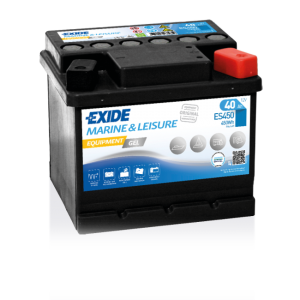 Akumulator   40Ah/280A EXIDE Equipment  GEL ES450
