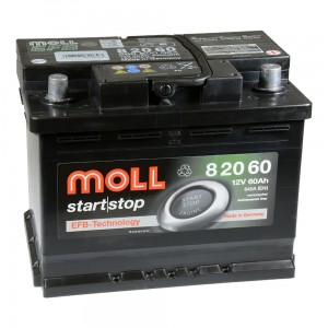Akumulator  60Ah MOLL START|STOP EFB (82060)