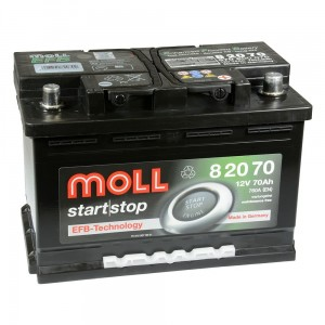 Akumulator  70Ah MOLL START|STOP EFB (82070)