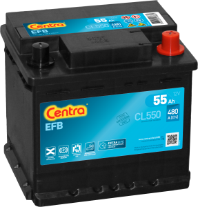 Akumulator  55Ah CENTRA CL550 START|STOP