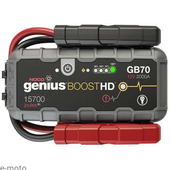 Jump Starter NOCO GB70 Genius Boost HD 12V 2000A / Booster Li-Ion Powerbank